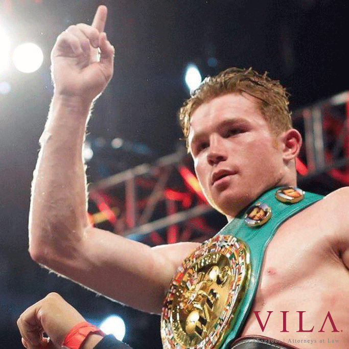 "Our Client and Friend ""Canelo""; Álvarez World Champion"